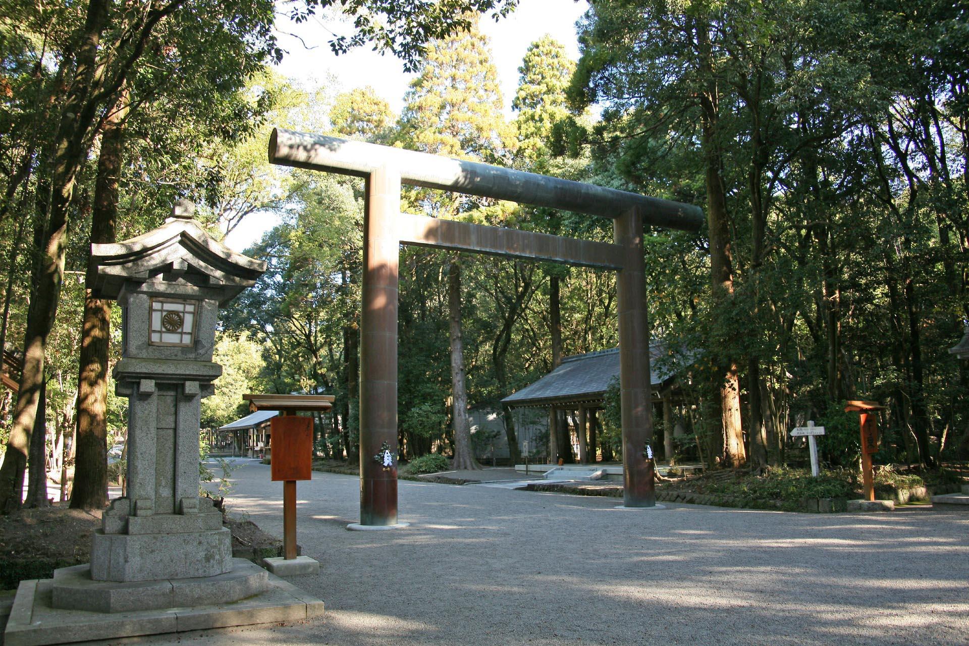 宮崎神宮 宮崎の風景
