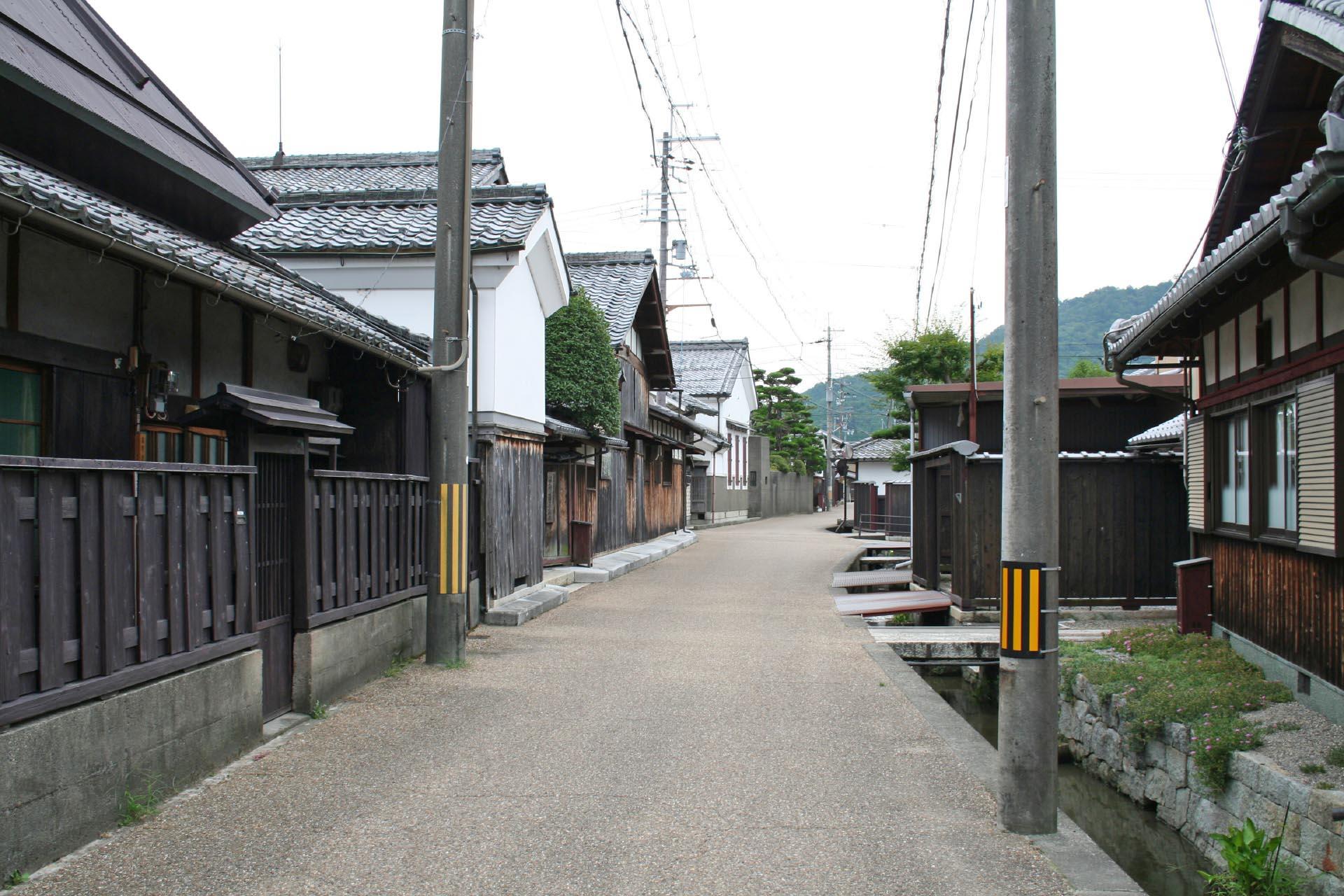 五個荘金堂の町並み 滋賀の風景
