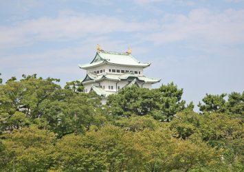 9月の名古屋城 愛知の風景