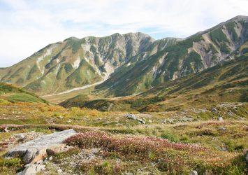 秋の立山 富山の風景