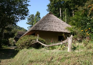 細川家住宅 香川の風景