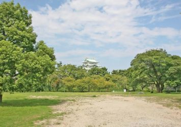 名古屋城のある風景 愛知の風景