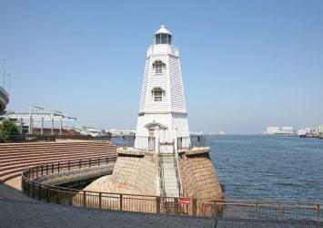旧堺燈台 大阪の風景