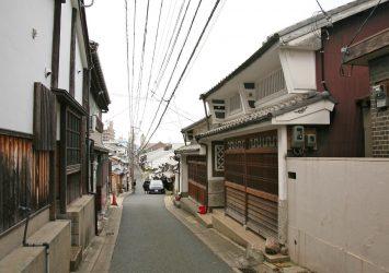 奈良の伝統的な町並み 奈良の風景