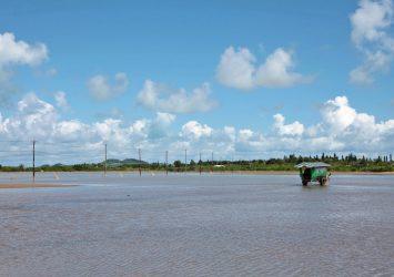 由布島の風景 沖縄の風景